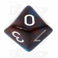 TDSO Photo Reactive Blue & Red D10 Dice