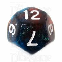 TDSO Photo Reactive Blue & Red D12 Dice