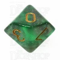 TDSO Photo Reactive Green & Grey D10 Dice