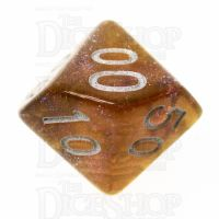 TDSO Photo Reactive Grey & Orange  Percentile Dice