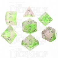 TDSO Photo Reactive Green & Purple 7 Dice Polyset