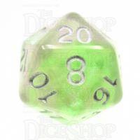 TDSO Photo Reactive Green & Purple D20 Dice