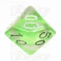 TDSO Photo Reactive Green & Purple Percentile Dice