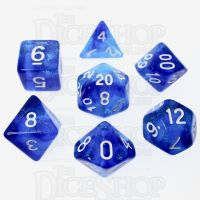 TDSO Photo Reactive Sapphire & Blue 7 Dice Polyset