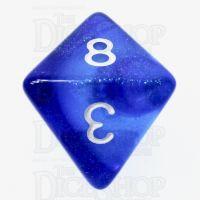 TDSO Photo Reactive Sapphire & Blue D8 Dice