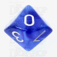 TDSO Photo Reactive Sapphire & Blue D10 Dice
