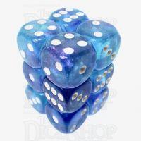 TDSO Photo Reactive Blue & Purple 12 x D6 Dice Set
