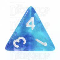 TDSO Photo Reactive Blue & Purple D4 Dice