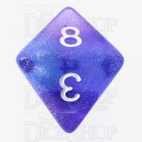 TDSO Photo Reactive Blue & Purple D8 Dice