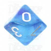 TDSO Photo Reactive Blue & Purple D10 Dice