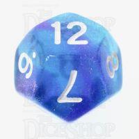 TDSO Photo Reactive Blue & Purple D12 Dice