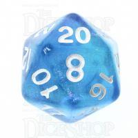 TDSO Photo Reactive Blue & Purple D20 Dice