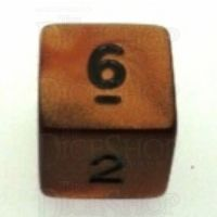 Koplow Olympic Bronze D6 Dice