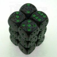 Chessex Speckled Earth 12 x D6 Dice Set