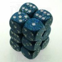Chessex Speckled Sea 12 x D6 Dice Set