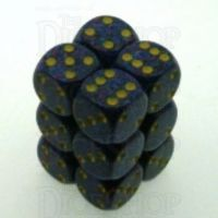 Chessex Speckled Twilight 12 x D6 Dice Set