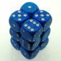Chessex Speckled Water 12 x D6 Dice Set