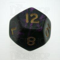 D&G Oblivion Purple & Black D12 Dice