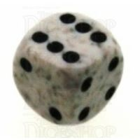Chessex Speckled Arctic Camo 16mm D6 Spot Dice