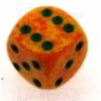 Chessex Speckled Lotus 16mm D6 Spot Dice