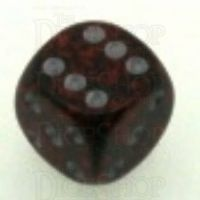 Chessex Speckled Silver Volcano 16mm D6 Spot Dice