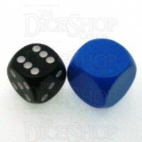 D&G Opaque Blank Blue 18mm D6 Dice