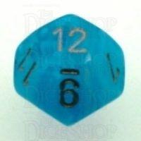 Chessex Cirrus Aqua D12 Dice