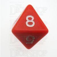D&G Opaque Red D8 Dice