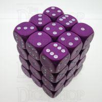 D&G Opaque Purple 36 x D6 Dice Set