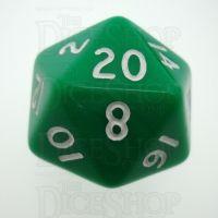 D&G Opaque Green D20 Dice