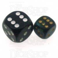 Chessex Scarab Jade 12mm D6 Spot Dice