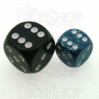Chessex Speckled Sea 12mm D6 Spot Dice