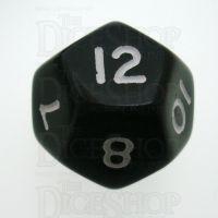 D&G Opaque Black D12 Dice