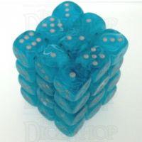 Chessex Cirrus Aqua 36 x D6 Dice Set