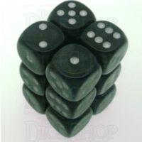 Chessex Borealis Smoke 12 x D6 Dice Set