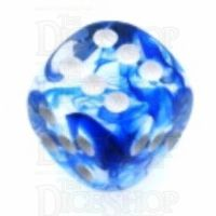 Chessex Nebula Dark Blue 16mm D6 Spot Dice