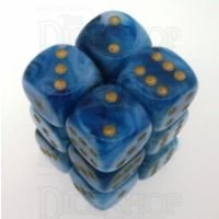 Chessex Phantom Teal 12 x D6 Dice Set