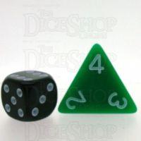 D&G Opaque Green JUMBO 34mm D4 Dice