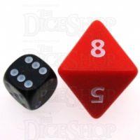 D&G Opaque Red JUMBO 34mm D8 Dice