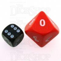 D&G Opaque Red JUMBO 34mm D10 Dice