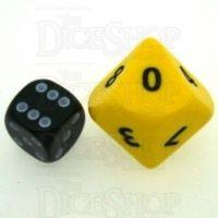 D&G Opaque Yellow JUMBO 34mm D10 Dice