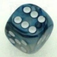 Chessex Lustrous Slate 16mm D6 Spot Dice