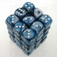 Chessex Lustrous Slate 36 x D6 Dice Set