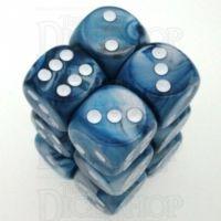 Chessex Lustrous Slate 12 x D6 Dice Set