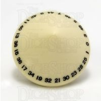 GameScience Opaque Ivory D50 Dice
