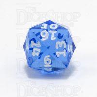 GameScience Gem Sapphire & White Ink D24 Dice