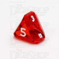 GameScience Gem Ruby & White Ink D5 Dice