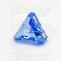GameScience Gem Sapphire & White Ink D5 Dice
