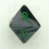 Chessex Gemini Black & Grey D8 Dice