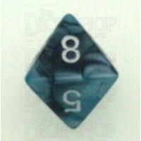 Chessex Gemini Black & Shell D8 Dice